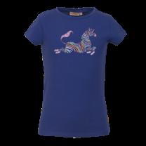 meisjes T-shirt Marty kobalt