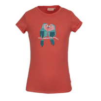 meisjes T-shirt Macaw coral