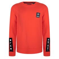 jongens trui red orange