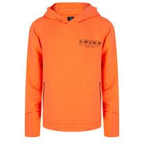 jongens trui hooded worldwide bright orange