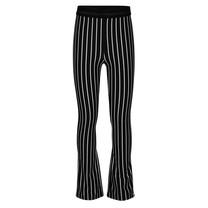 meisjes broek flare striped