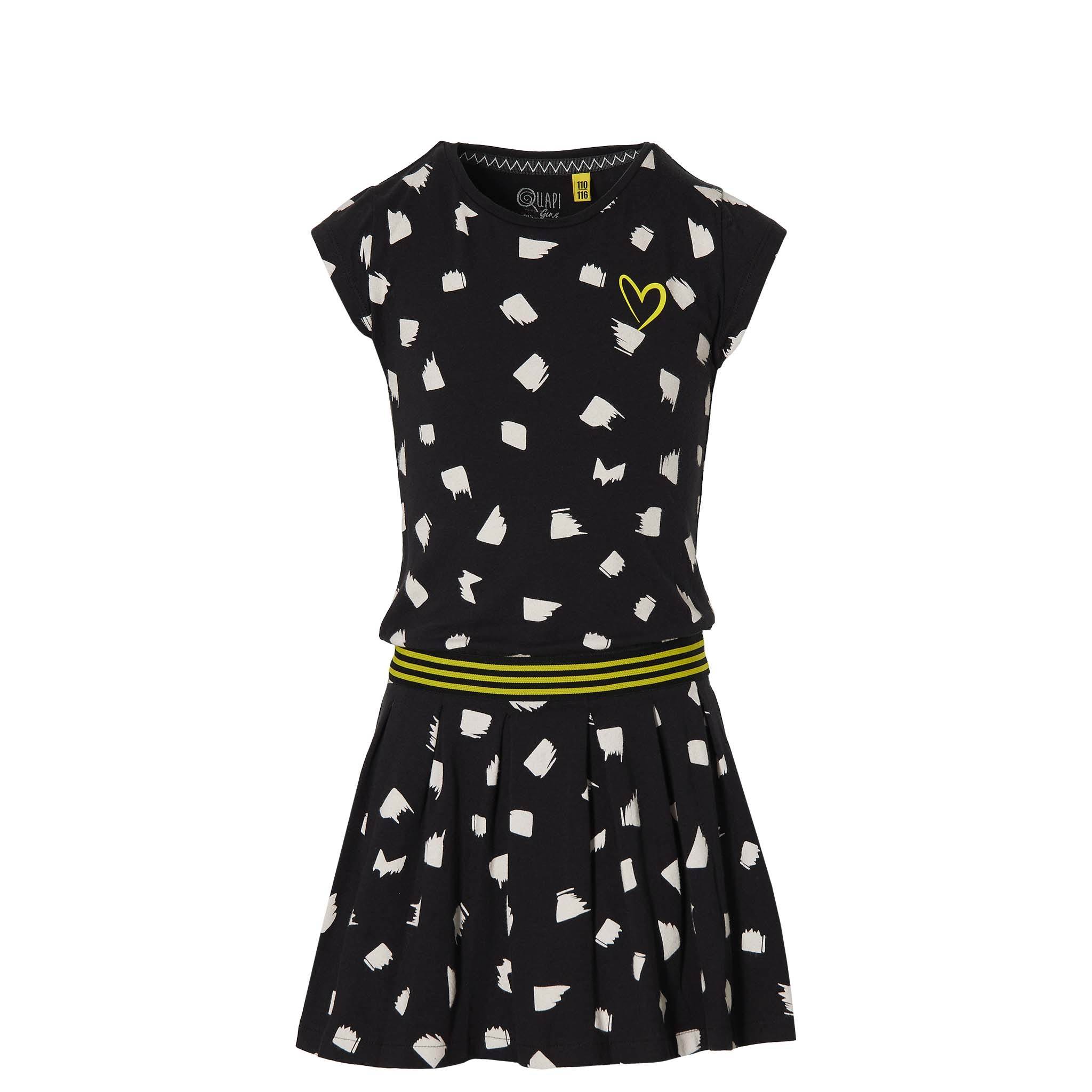 jurk Fabia black dot