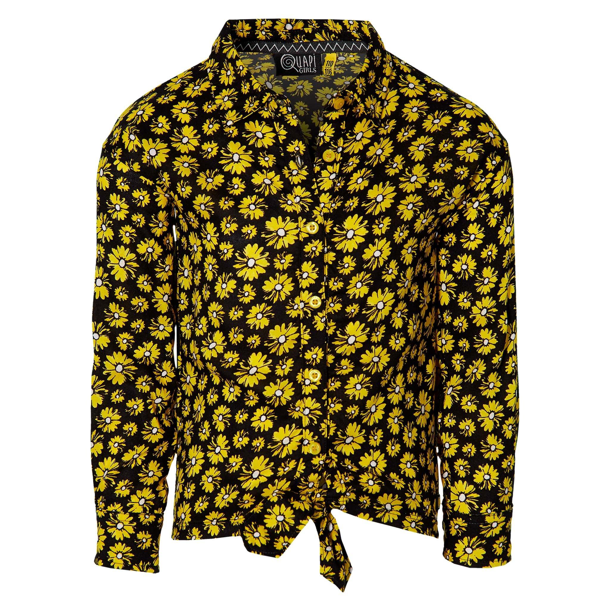meisjes blouse Fera summer yellow Daisy