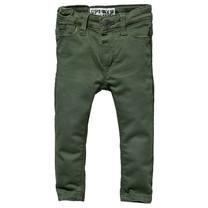 jongens broek Gijs army green