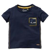 jongens T-shirt Gael dark blue