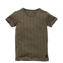 jongens T-shirt Nardo olive