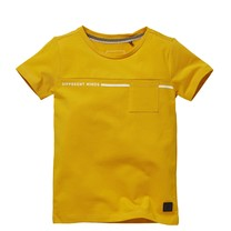 jongens T-shirt Nando old yellow