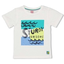 T-shirt wit - Smile&Wave
