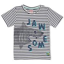T-shirt streep indigo - Smile&Wave