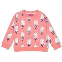trui aop koraal - sweet gelato