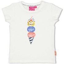 T-shirt offwhite - sweet gelato