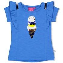 T-shirt blauw - sweet gelato