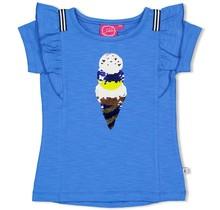 Jubel T-shirt blauw - sweet gelato