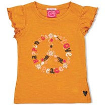 T-shirt okergeel - Whoopsie Daisy