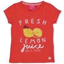 T-shirt fresh koraal - Tutti Frutti