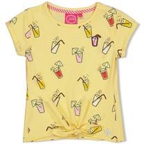 T-shirt aop geel - Tutti Frutti