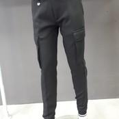 Antony Morato broek slim fit scuba cotton black