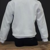 Antony Morato trui regular fit scuba cotton 3D print white
