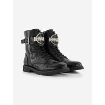 meisjes laarzen Brynn Croco boots black