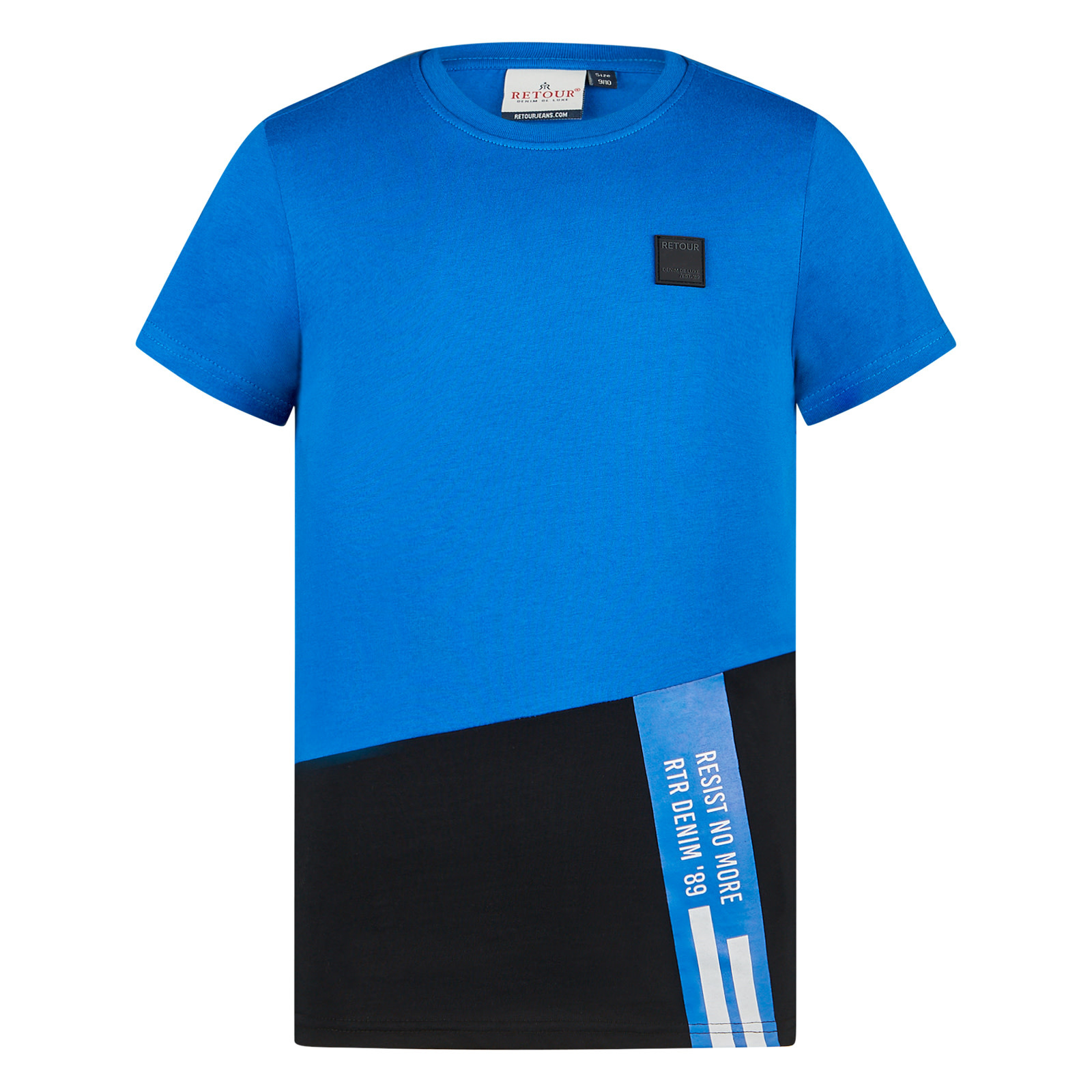 jongens T-shirt Gavin mid blue