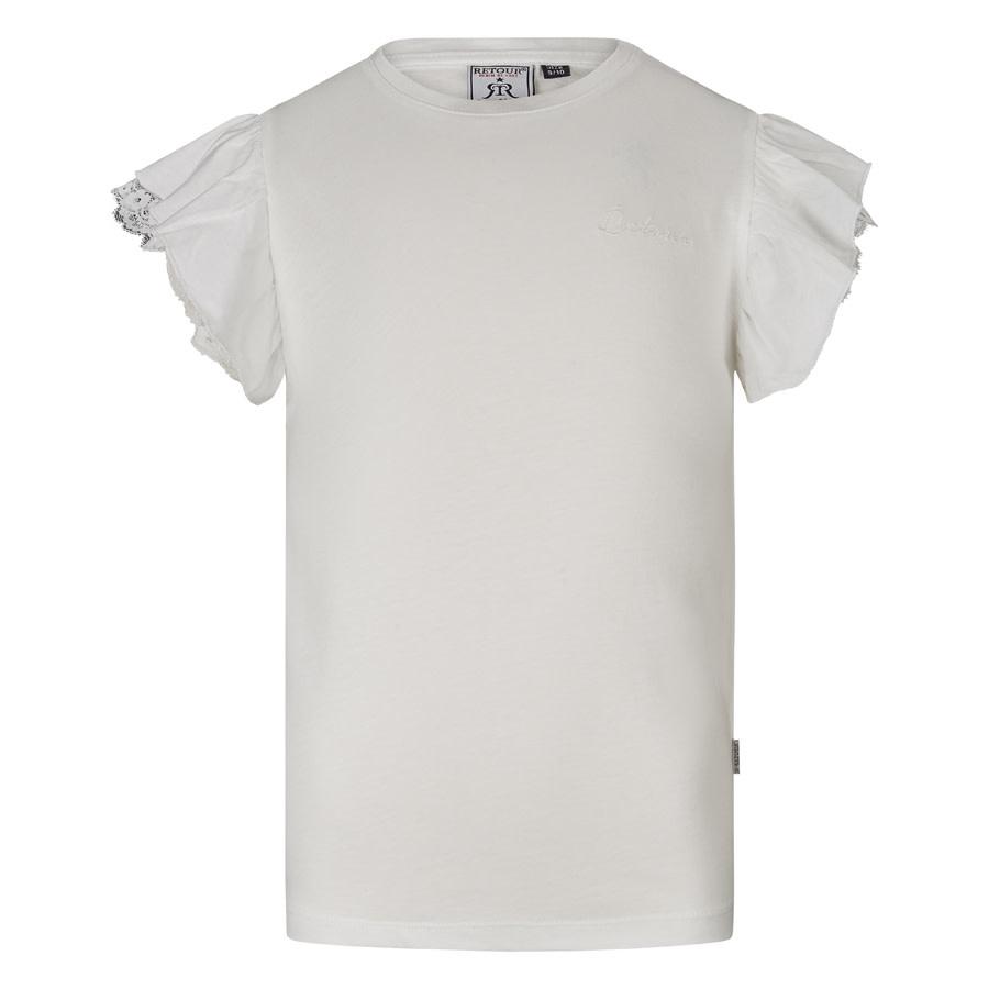 meisjes T-shirt Hanna off-white
