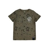 jongens T-shirt Bachir ivy green