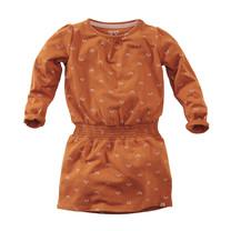 mini jurk Ibis pecan pie/aop