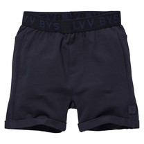 jongens short Noxx dark blue