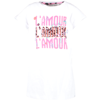 meisjes T-shirt Charia white