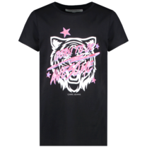 meisjes T-shirt Moshi black