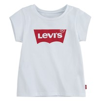 meisjes T-shirt batwing red/white