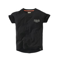 jongens T-shirt Daaf beasty black
