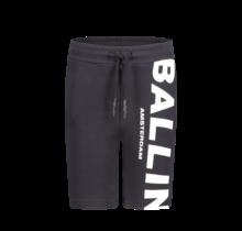 Ballin' short black logo