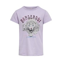 T-shirt Lucy orchid bloom