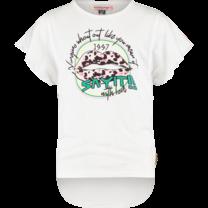 meisjes T-shirt Imani real white