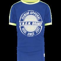 jongens T-shirt Hampion admiral blue
