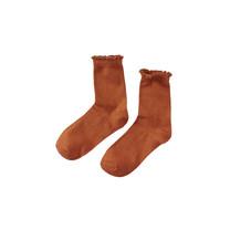 meisjes sokken Flora happy henna