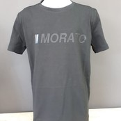 Antony Morato T-shirt regular fit with rubber logo black