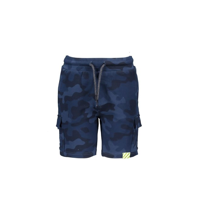 B.Nosy jongens short aop space blue camo
