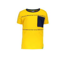 jongens T-shirt lemon chrome