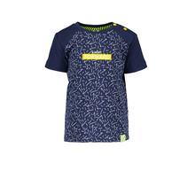 B.Nosy jongens T-shirt kris kras space blue