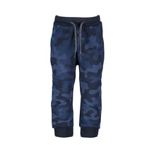 jongens broek space blue camo
