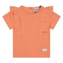 meisjes T-shirt Angel peach