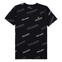 T-shirt aop black