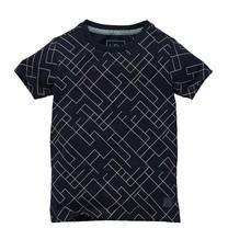 jongens T-shirt Naut dark blue graphic