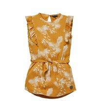 jurk Neele mustard leaves