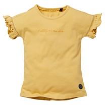 meisjes T-shirt Neva sahara yellow