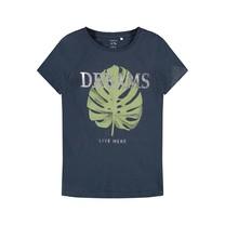 meisjes T-shirt Delfine dark sapphire