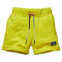 jongens short Gique blazing yellow