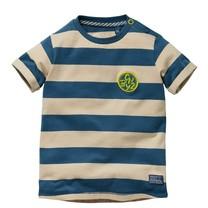 jongens T-shirt Gerolf light sand stripe